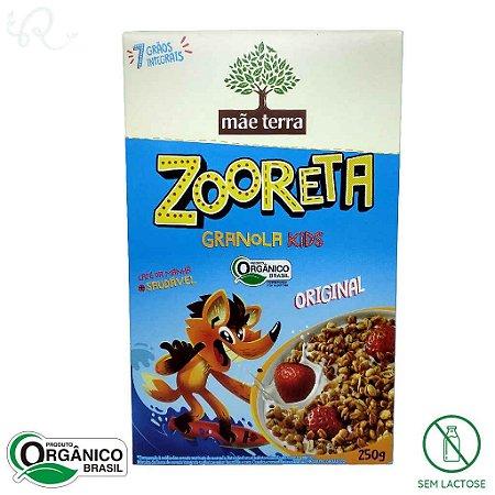 Cereal Infantil Zooreta Orgânico sabor Original 250g - Mãe Terra