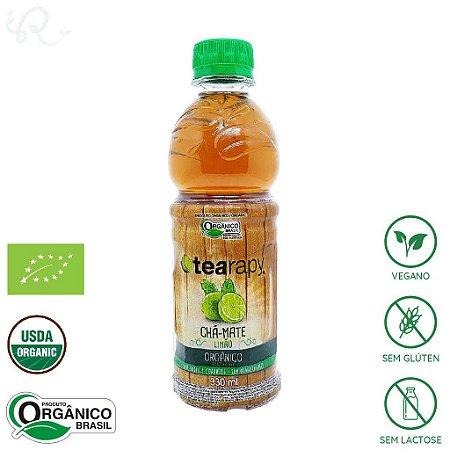 Chá Mate Orgânico Limão 330ml - Tearapy