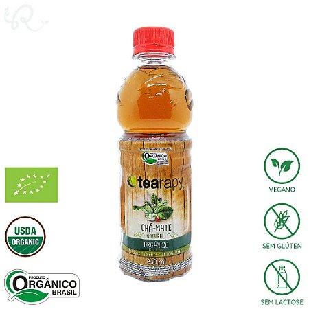 Chá Mate Orgânico Natural 330ml - Tearapy
