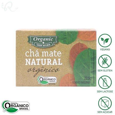 Chá Mate Natural Orgânico 15 sachês - Organic
