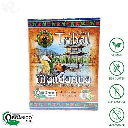 Chá de Mandarina com Especiarias Orgânico 15 sachês - Tribal Brasil