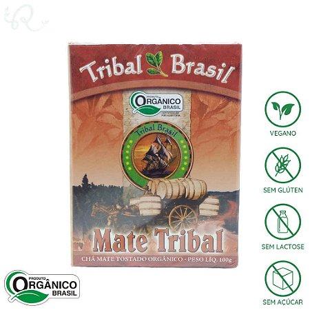 Chá Orgânico de Mate Tostado 100g - Tribal Brasil