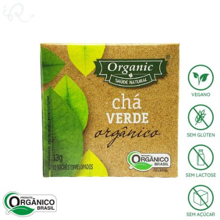 Chá Verde Orgânico 10 sachês - Organic