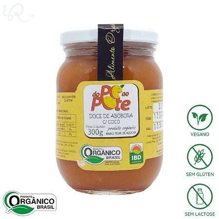 Doce de Abóbora com Coco Orgânico 300g - Do Pé ao Pote