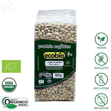Feijão Orgânico Fradinho 500g - Ecobio