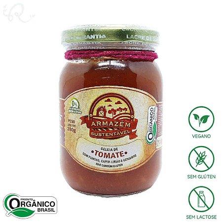 Geleia Orgânica de Tomate 280g - Armazém Sustentável