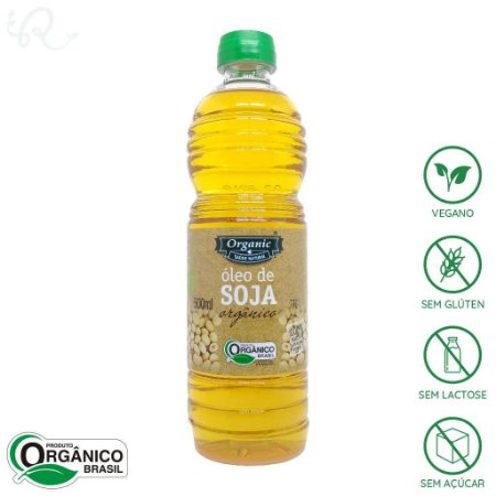 Óleo de Soja Orgânico 500ml - Organic
