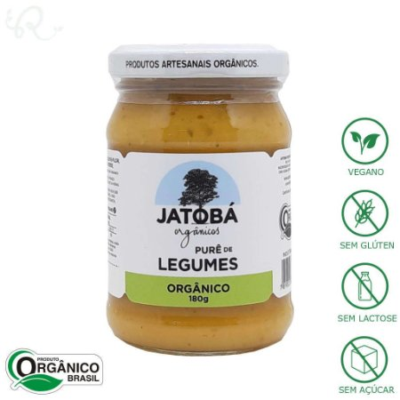 Purê Pronto Orgânico de Legumes 180g - Jatobá
