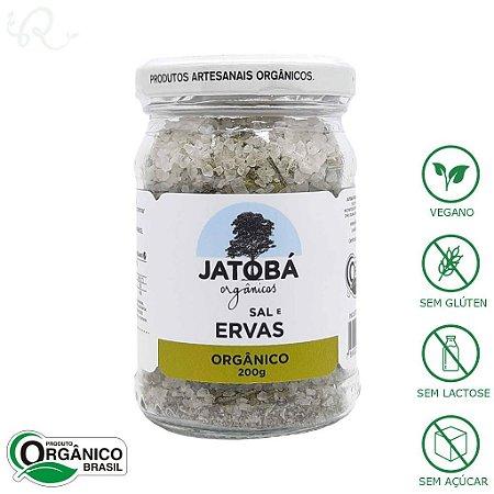 Sal e Ervas Orgânico 200g - Jatobá