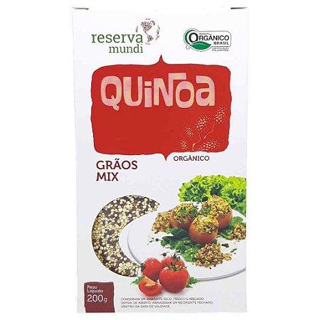 Mix de Quinoa Orgânica em Grãos 200g - Mundo da Quinoa