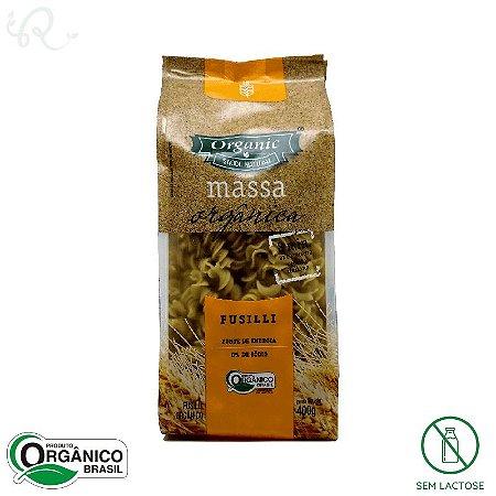 Macarrão Orgânico Fusilli 400g - Organic
