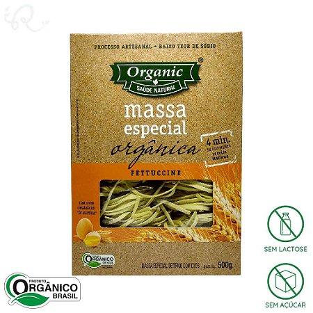 Macarrão Orgânico Fettuccine 500g - Organic