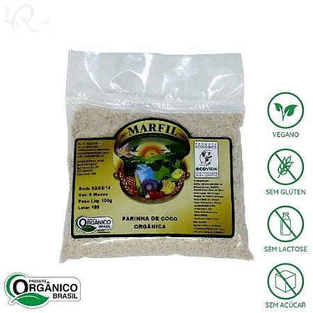 Farinha de Coco Orgânica 100g - Marfil