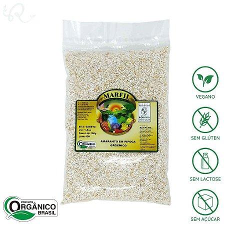 Amaranto Orgânico em Pipoca 100g - Marfil