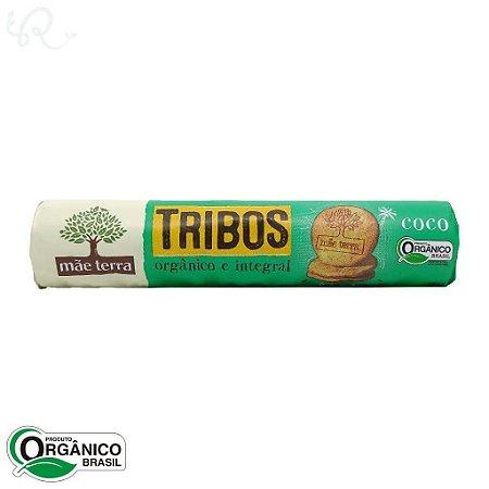 Biscoito Tribos Coco Orgânico e Integral 130g - Mãe Terra
