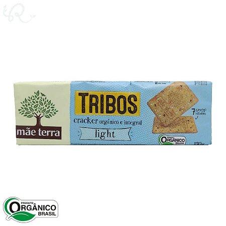 Biscoito Tribos Orgânico e Integral Cracker Light 130g - Mãe Terra (CONSUMO IMEDIATO)