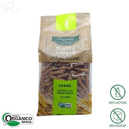 Macarrão Integral Orgânico Penne 400g - Organic