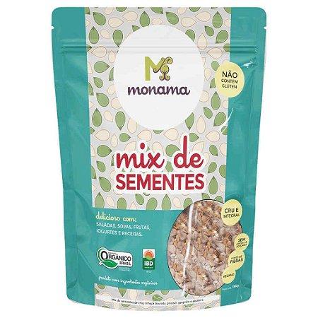 Mix de Sementes Orgânicas 190g - Monama