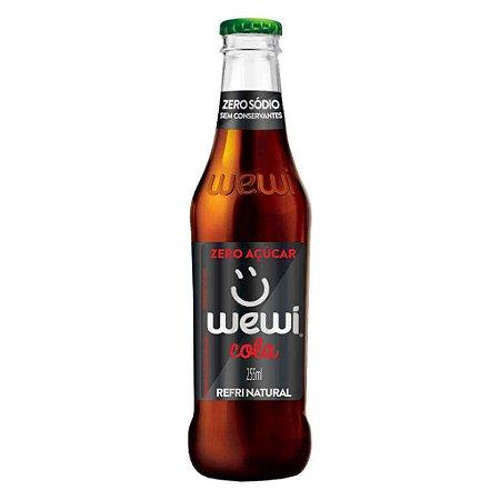 Refrigerante Wewi Cola Zero Açúcar Natural 255ml - Wewi