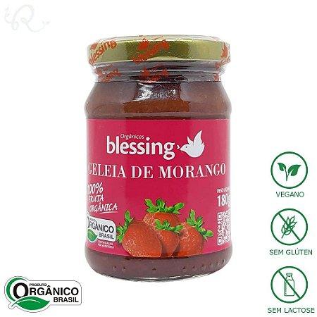 Geleia de Morango Orgânica 180g - Blessing