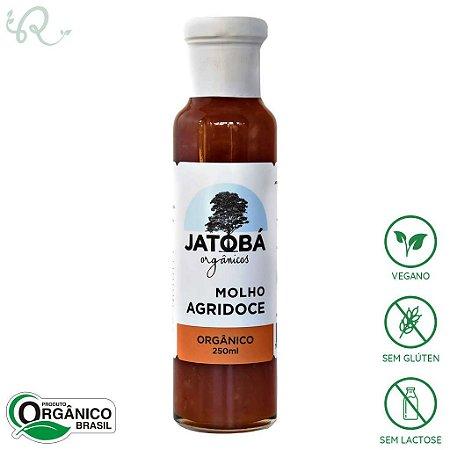 Molho Agridoce Picante Orgânico 250ml - Jatobá