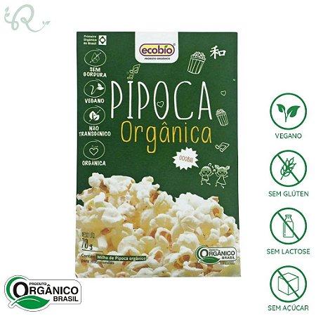 Pipoca Orgânica de Microondas 70g - Ecobio