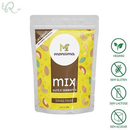 Mix de Nuts e Sementes Ervas Finas 30g - Monama