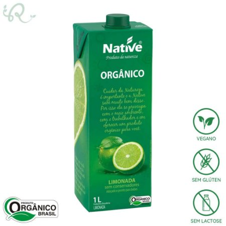 Limonada Orgânica 1L - Native
