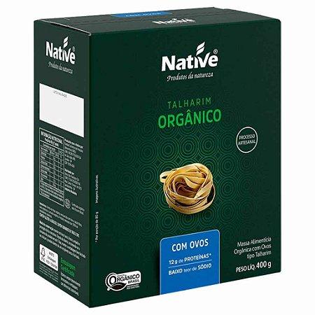 Macarrão Orgânico com Ovos 400g - Native
