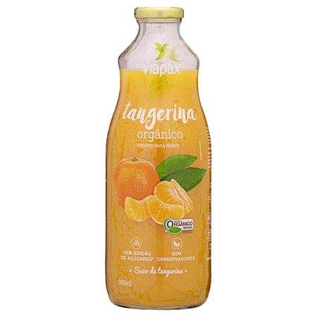 Suco de Tangerina Orgânico 980ml - Viapax Bio