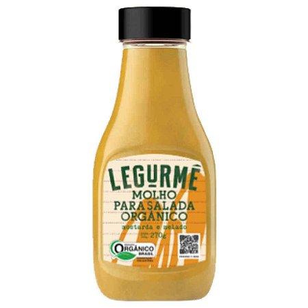 Molho Pronto para Salada Mostarda e Melado Orgânico 270g - Legurmê