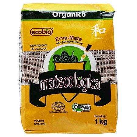 Erva Mate Orgânica para Chimarrão Matecológica 1kg - Ecobio