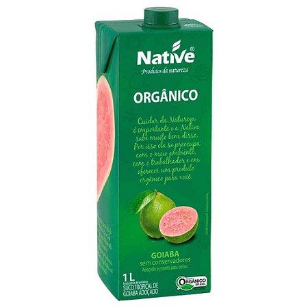 Suco de Goiaba Natural Orgânico 1L - Native