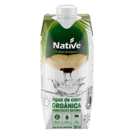 Água de Coco Natural Orgânica 330ml - Native