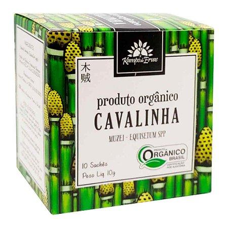 Chá de Cavalinha Orgânico 10 Sachês - Kampo de Ervas