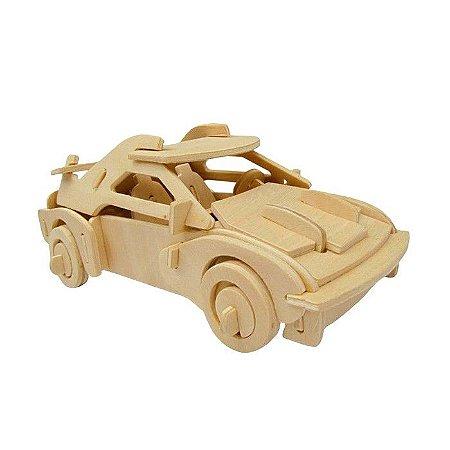 Quebra cabeça 3D Carro Esportivo