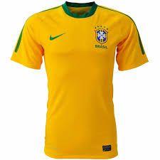 Camisa Seleção Brasileira Uniforme I Cor Amarela ... 7985755d831e4