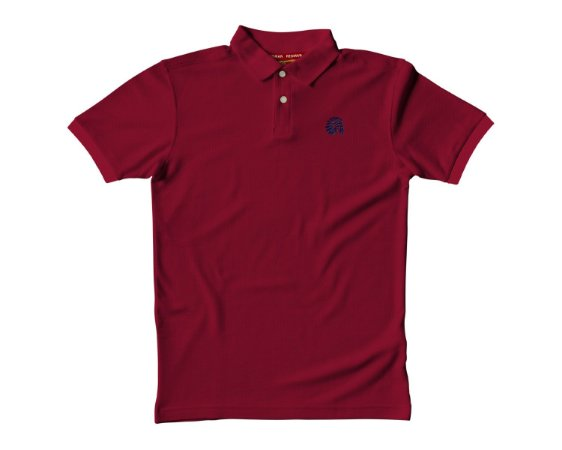 Camisa Polo Red Man - Bordô
