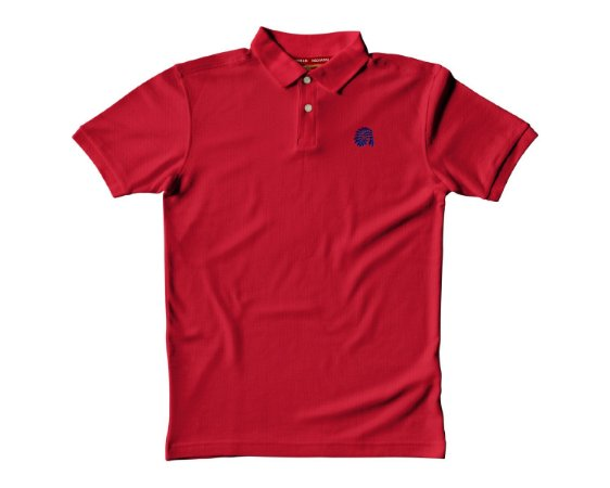 Camisa Polo Red Man - Vermelha