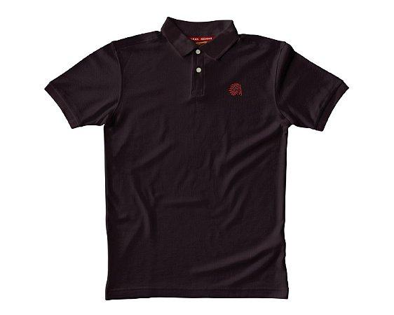 Camisa Polo Red Man - Vinho