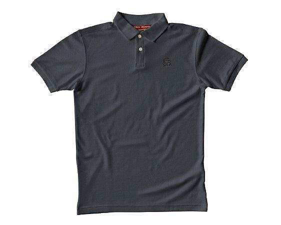 Camisa Polo Red Man - Cinza Escuro