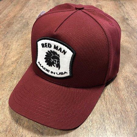 BONÉ RED MAN THUS - RED 381