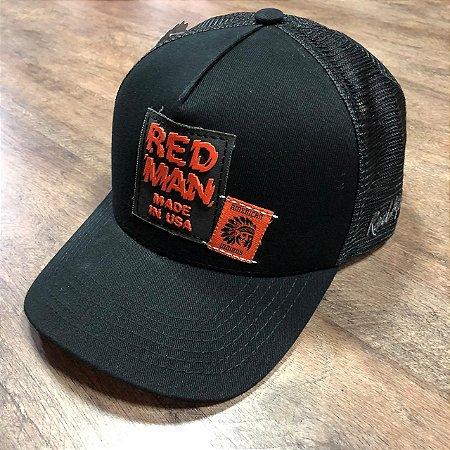 BONÉ RED MAN SHAKED - RED 388