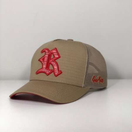 Boné Red Brand R1 Sand - RED 512