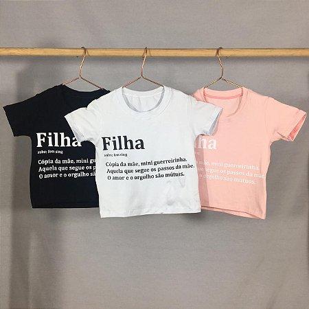 T-Shirt Filha Definição (Infantil)