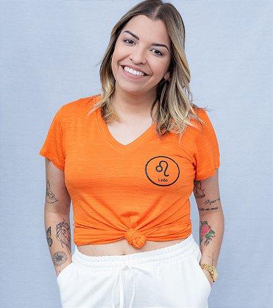 T-shirt signos leão