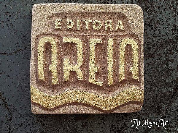 Logo Personalizada em Concreto Celular - Arte sob encomenda