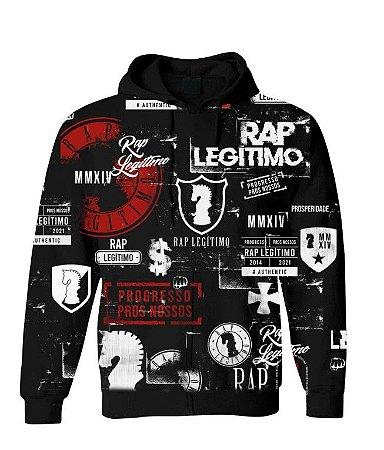 Moletom Rap legitimo 7 anos - PRETO (Edição limitada)
