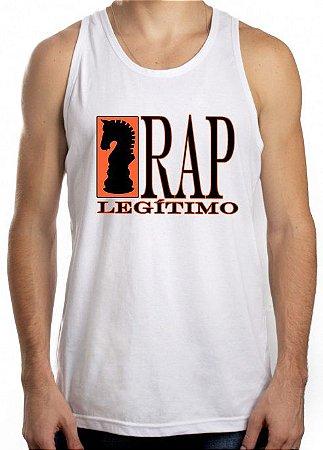 Regata Rap Legítimo, branca e preto