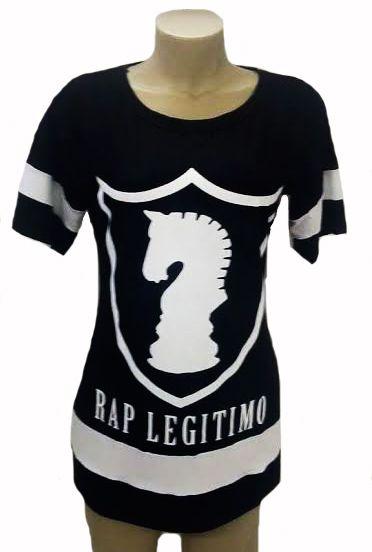 Vestido Rap Legítimo, preto
